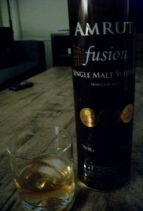 Amrut Fusion Single Malt Whiskey