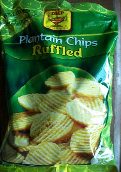 Deep Plantain Chips Ruffled