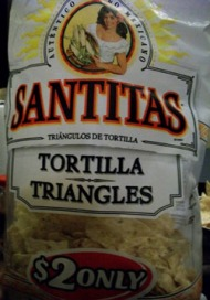 Santitas Tortilla Triangles