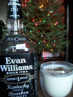 Evan Williams - Winner of the EggnogOff