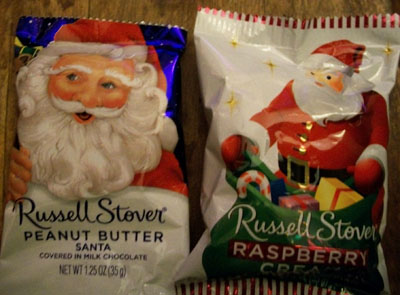 Russell Stover Santa Candy