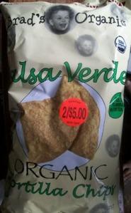 Brad's Salsa Verde Tortilla Chips