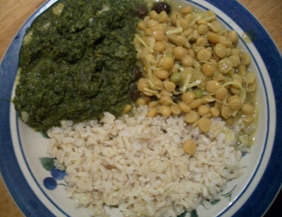 Indian Mustard Greens Recipe (Goes Great with Cholar Dal)