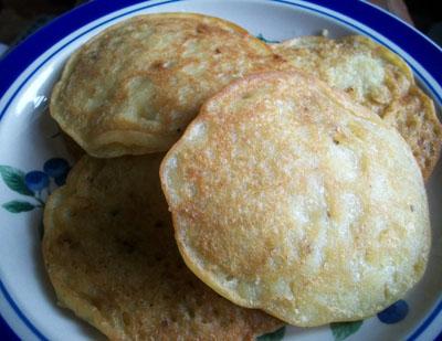 GF Vegan Pancakes