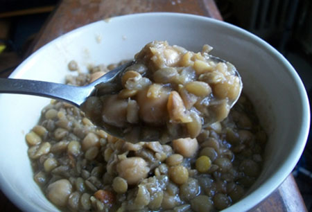 Cardamom Lentil Soup