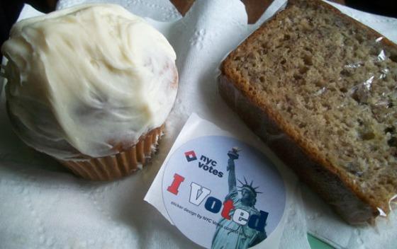 Post Vote Cupcakes