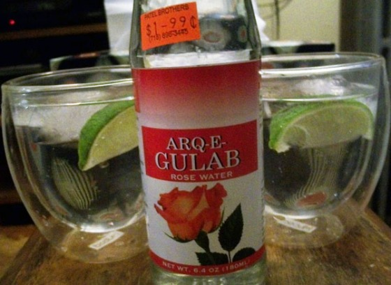 Rosewater Gin and Tonic Recipe