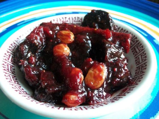 Cranberry Chutney/Relish/Chaatni
