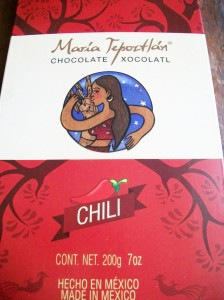 Maria Tepoztlan Chili Chocolate
