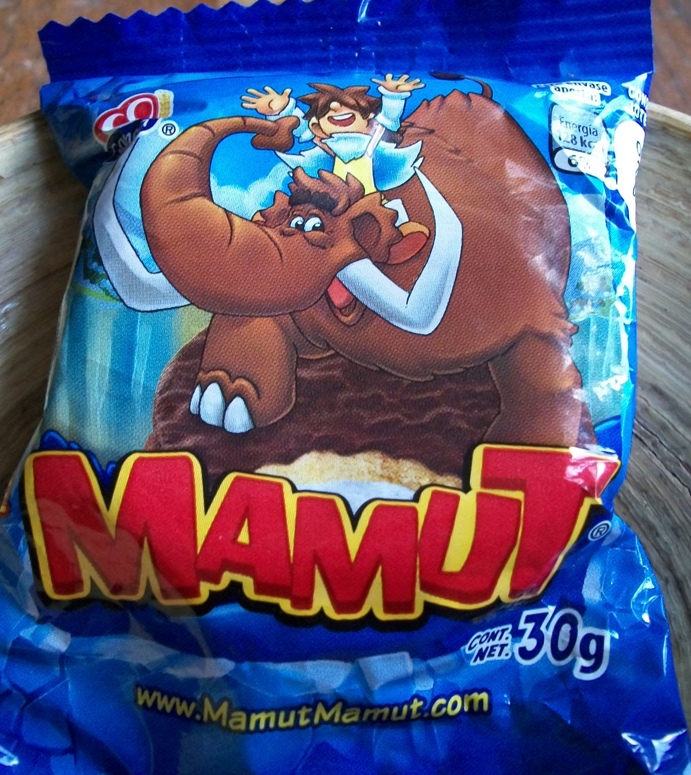 Gamesa Mamut Cookie 30g Product Of Mexico Roodonfood