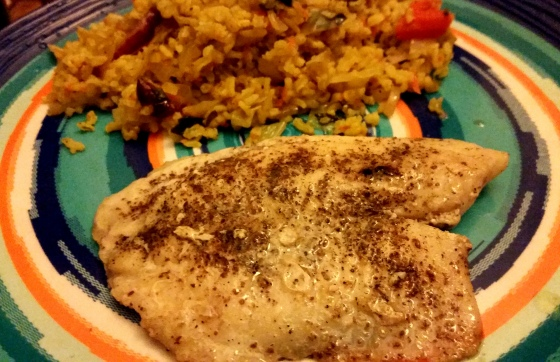 Tilapia with Sumac