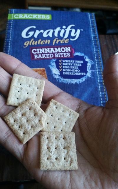 Gratify Gluten Free Cinnamon Baked Bites